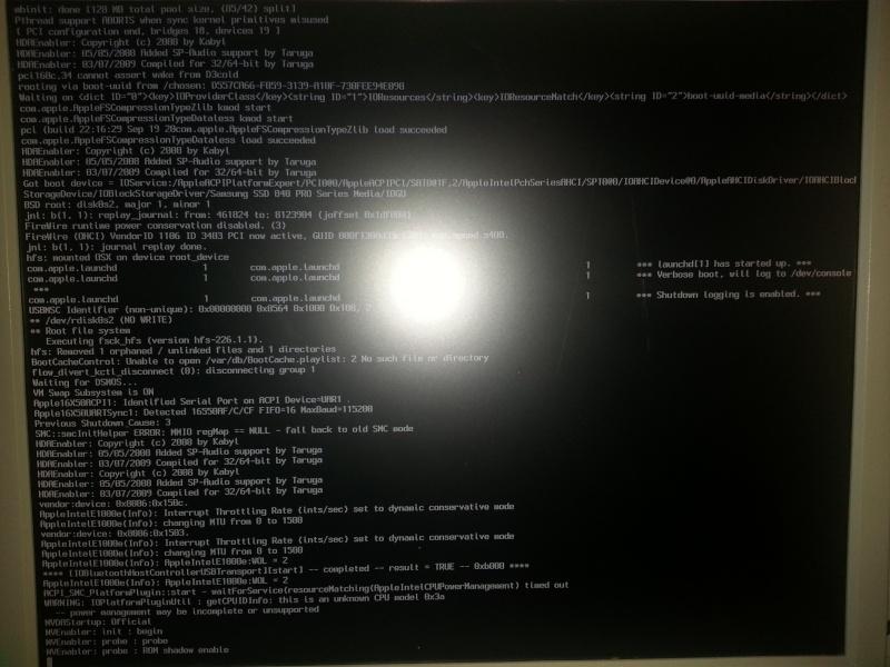 [Résolu] Problème de boot après installation 20140114