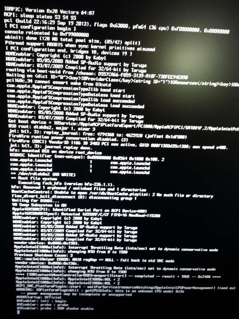 [Résolu] Problème de boot après installation 20140123