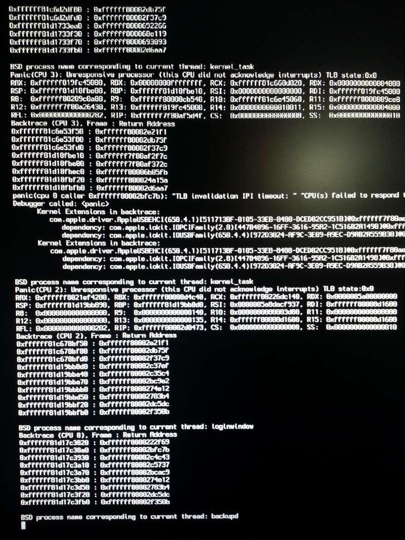 [Résolu] Problème de boot après installation 20140124