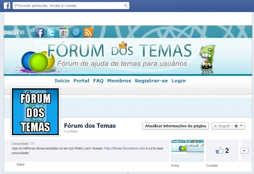 Curta a página do Fórum dos Temas no Facebook Result11