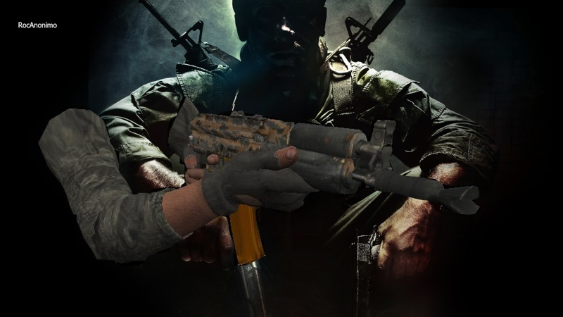 My Weapon, Sleeves, Hands (Bo1,2,Mw3 Blood hands, And Others) Retexture Ak74u_12