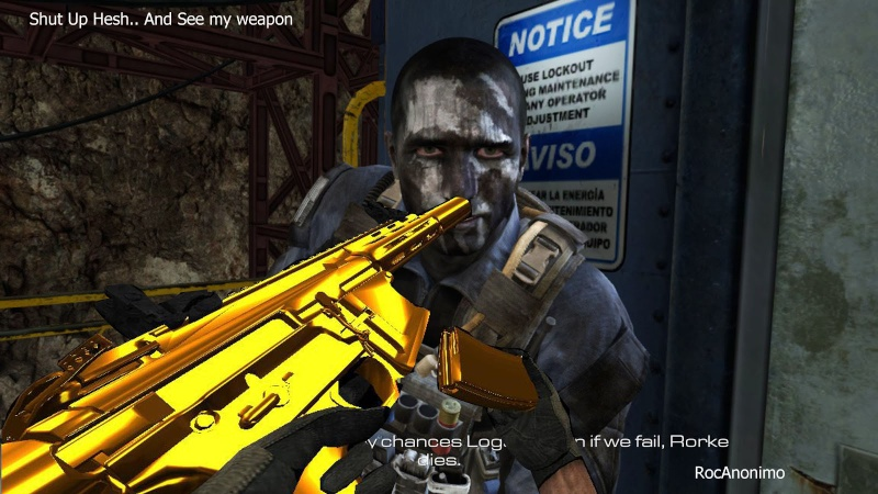 My Weapon, Sleeves, Hands (Bo1,2,Mw3 Blood hands, And Others) Retexture Gold_h11