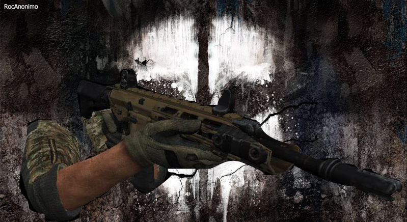My Weapon, Sleeves, Hands (Bo1,2,Mw3 Blood hands, And Others) Retexture Reming14