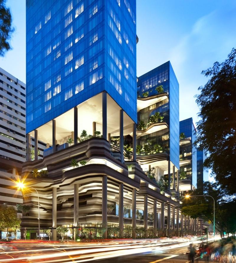 Un Hôtel « Vert » Exceptionnel à Singapour 114