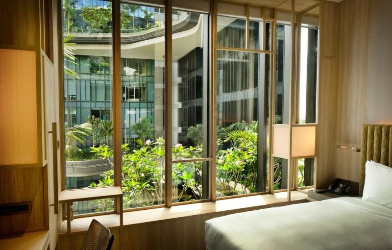 Un Hôtel « Vert » Exceptionnel à Singapour 214