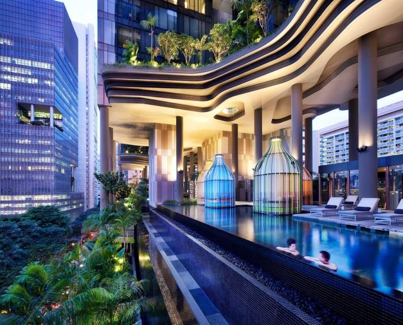 Un Hôtel « Vert » Exceptionnel à Singapour 414