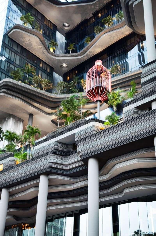 Un Hôtel « Vert » Exceptionnel à Singapour 714
