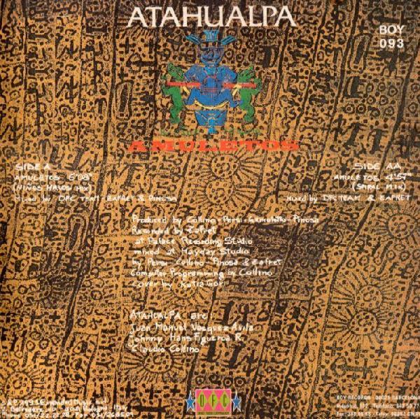 Atahualpa - Amuletos (1991) Back12