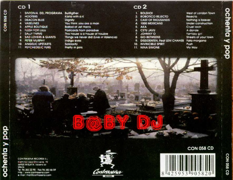RECOPILATORIO 80 Y POP Contra12