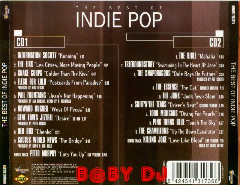 The Best Of  Indie Pop Vol.1 Contra13