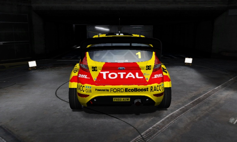 [FE WRT] Presentación Ford Fiesta WRC Victor Garcia Fiesta14