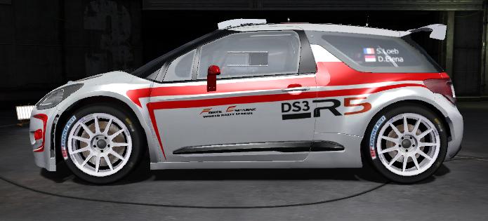 DS3 R5 homologado para FE WRL R5210