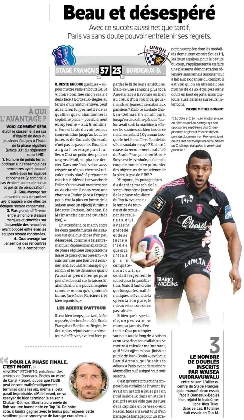 TOP 14 - 25ème journée : Stade Français / UBB - Page 6 Sans_t68