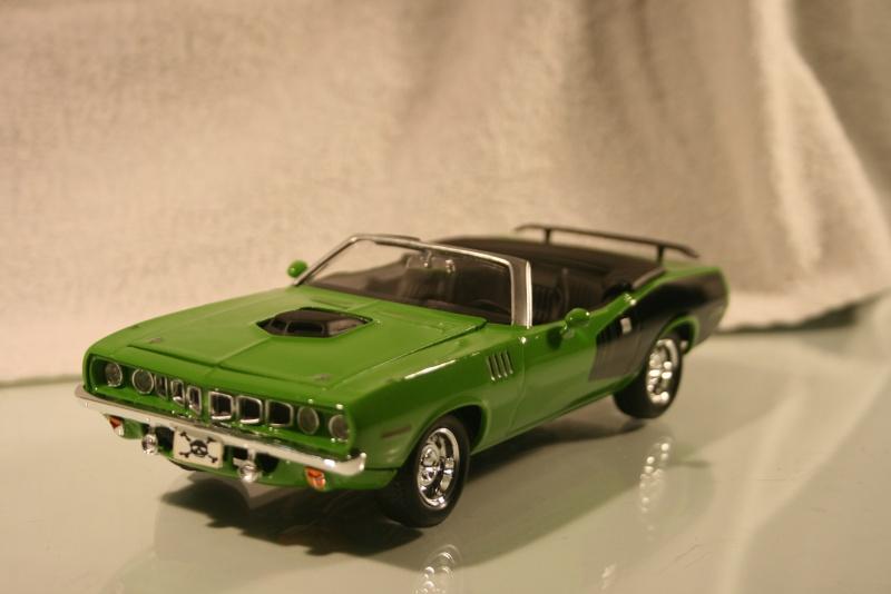 Plymouth 'Cuda 1971 convertible Modele30