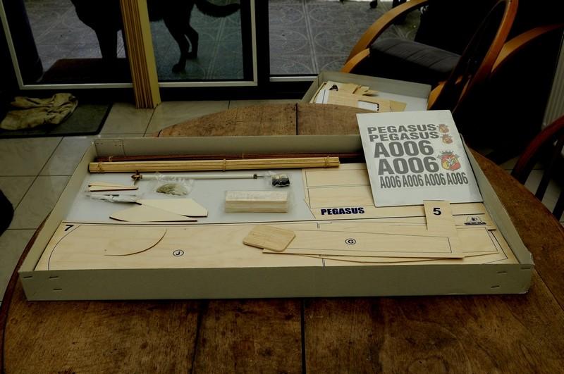 PEGASUS (pelle US 1961)de Anfora Model Kit à l'échelle 1/8eme 510