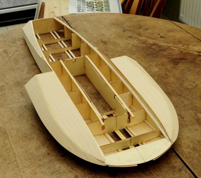 PEGASUS (pelle US 1961)de Anfora Model Kit à l'échelle 1/8eme 710