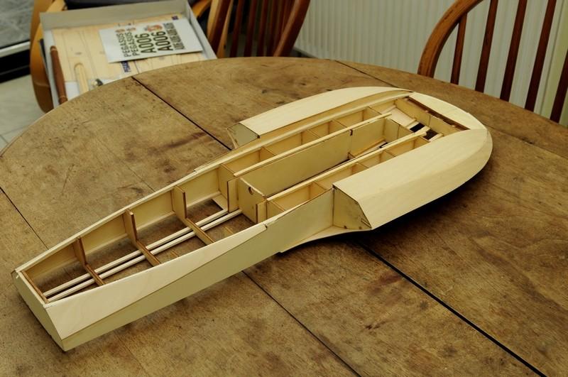 PEGASUS (pelle US 1961)de Anfora Model Kit à l'échelle 1/8eme 810