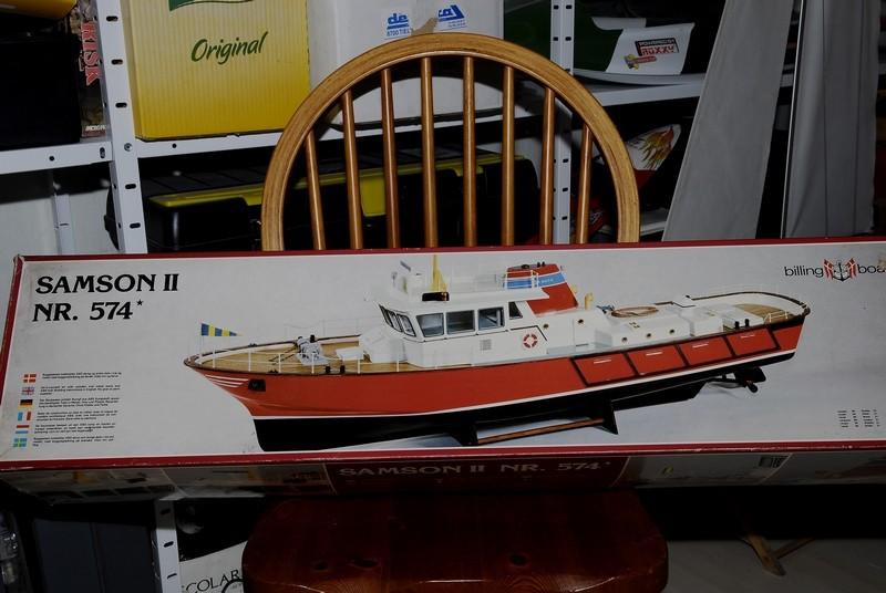 "Le ""SAMSON II"" de Billing Boats au 1/33   _2009422"