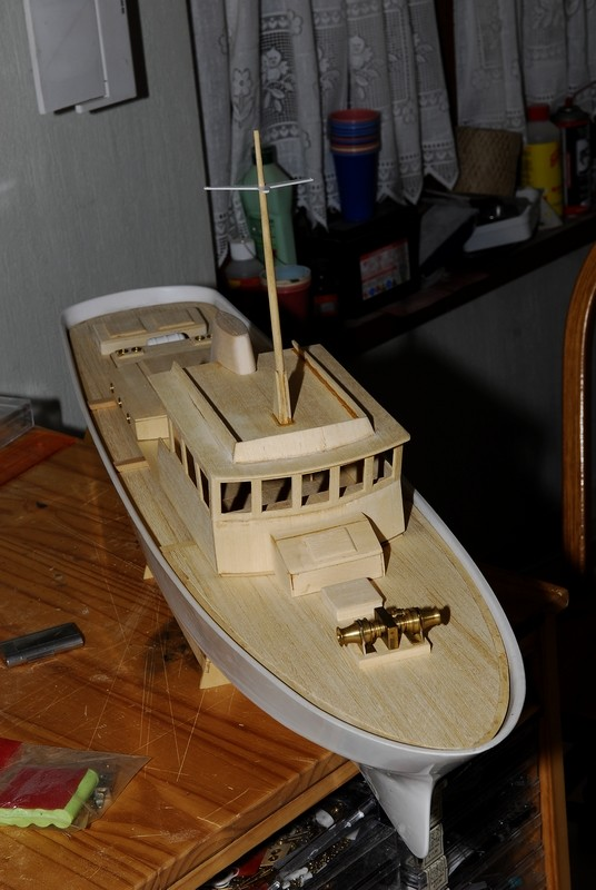 "Le ""SAMSON II"" de Billing Boats au 1/33   _2009432"