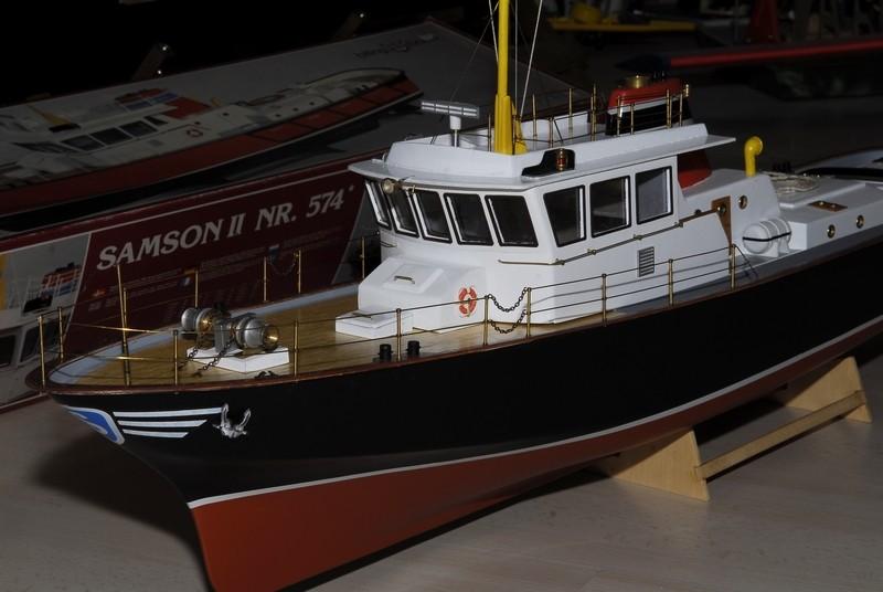 """Le """"SAMSON II"""" de Billing Boats au 1/33   - Page 3 _2009449"""