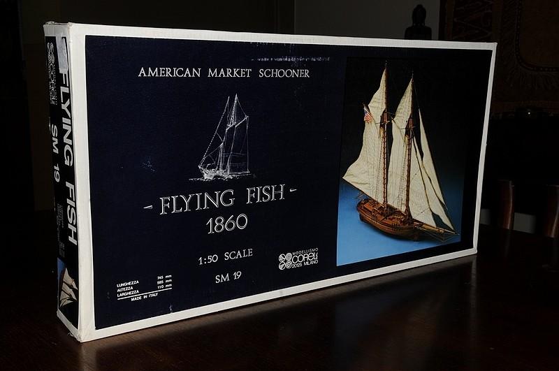 """""""FLYING FISH"""" de Corel. Echelle 1/50  _dsc9420"""