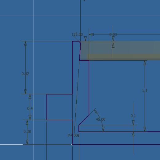 Projet de réalisation d'une montre : Etape 1 Bar210