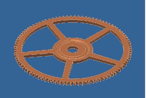 Projet de réalisation d'une montre : Etape 1 Roue11