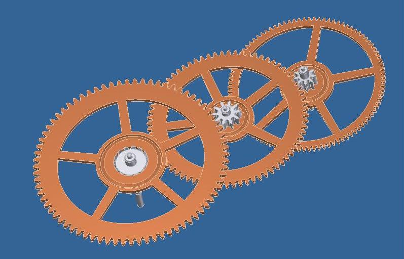 Projet de réalisation d'une montre : Etape 1 Train10