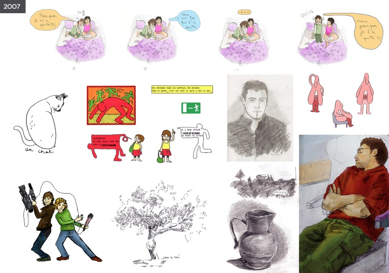 [inspi] Timeline - vos vieux dessins - Page 2 Timeli15