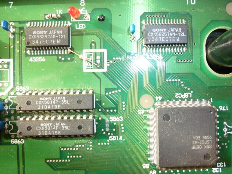 probleme NEOGEO AES P1050216