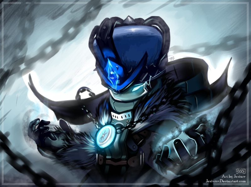 Spiral Knights Character Art Hennil10