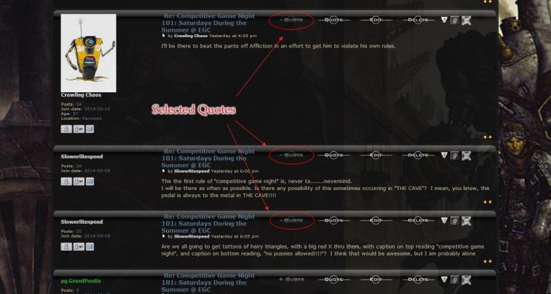 New Forum Feature: Multi-Quote Featur27