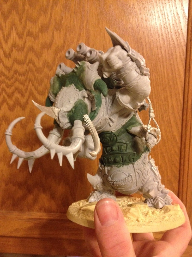 Skorne Mammoth WIP (lots of pics, tried to keep them small) Photo_11