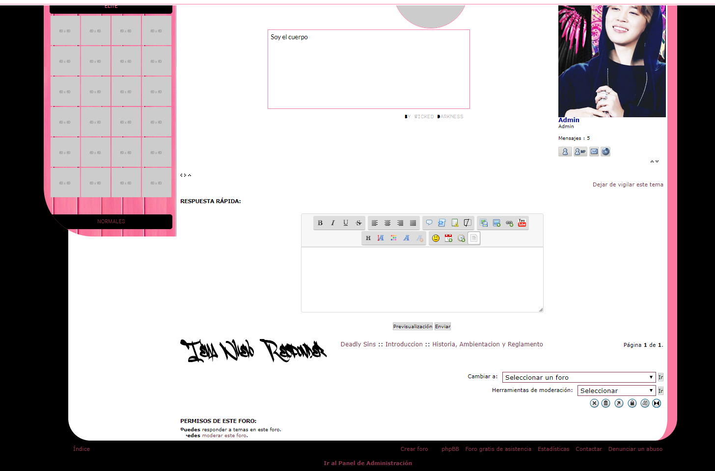 left - Columna de widgets se achica si la pagina es pequeña Untitl11
