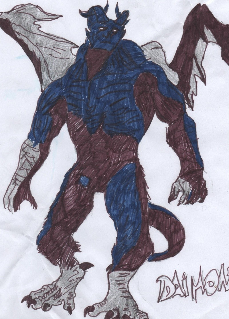 solomonck le fils du corbeau noir Daimon13
