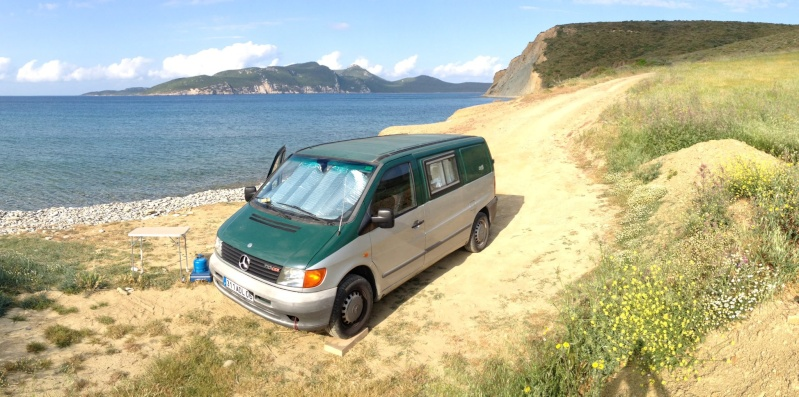 VENDU - A vendre Mercedes VITO 110 CDI aménagé type camping car Img_0610