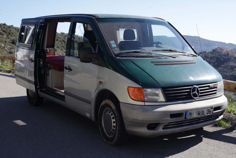 VENDU - A vendre Mercedes VITO 110 CDI aménagé type camping car Vito_011