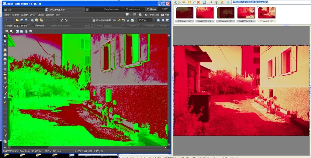 Infra Rouge et Sigma SD10 - Page 2 Compar10