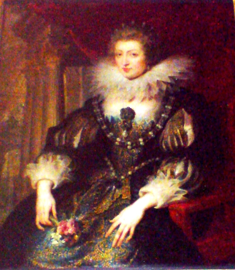 Élisabeth-Charlotte d'Orléans (Mlle de Chartres), grand-mère paternelle de Marie-Antoinette Anne_a10
