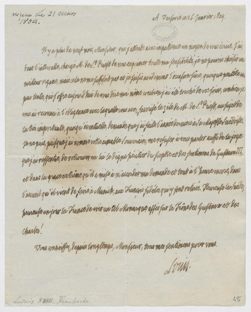 Louis-Stanislas, comte de Provence, et futur roi Louis XVIII - Page 2 Fran_010