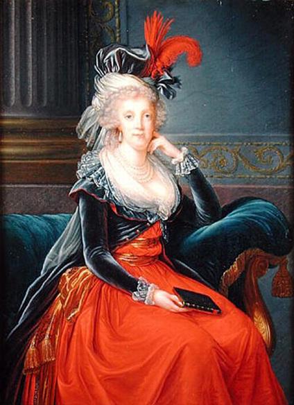 Portraits de Marie-Antoinette attribués aux Gautier Dagoty (ou d'après). Marie_10