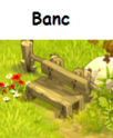 Indices Chasse aux trésors et Portail. Banc10
