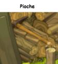 Indices Chasse aux trésors et Portail. Pioche10
