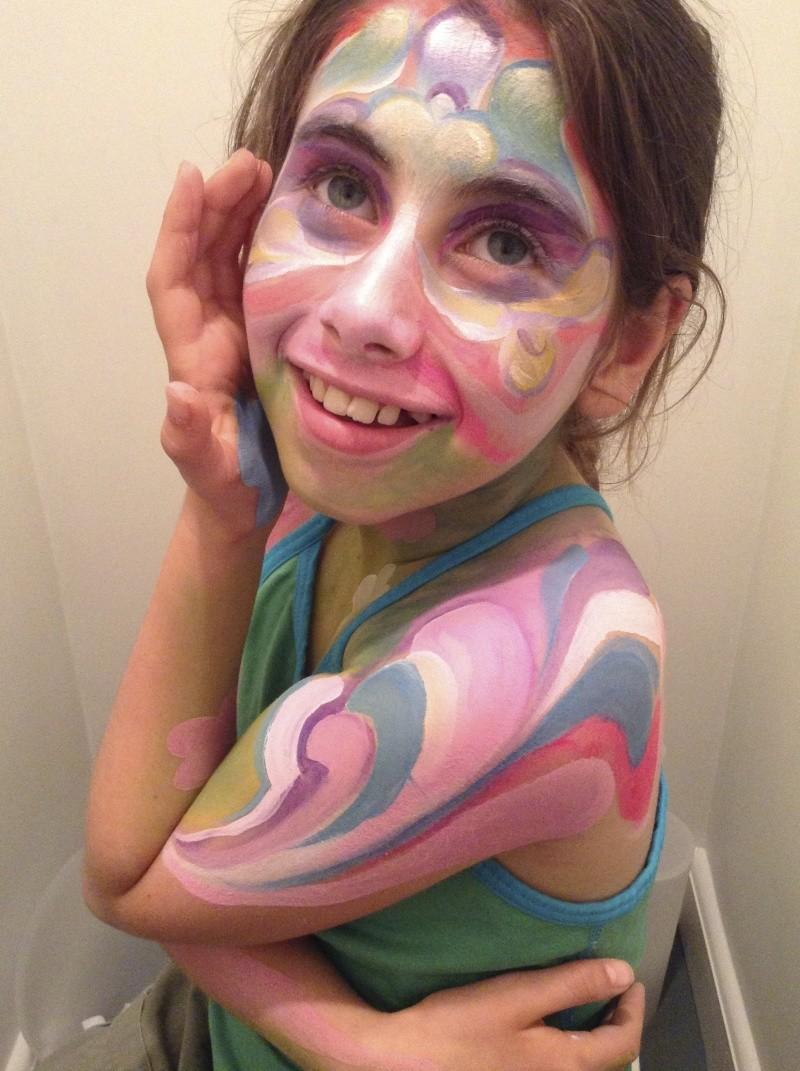 Yay, body painting! Img_1911