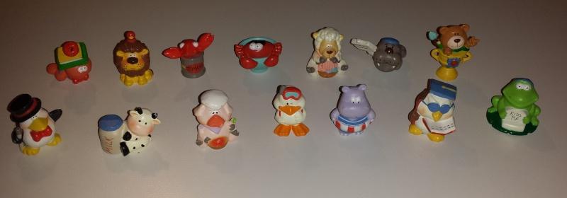 VENDO Collezioni Kinder Sorpresa, Kinder Ferrero, Parmalat e Mulino Bianco 20140220