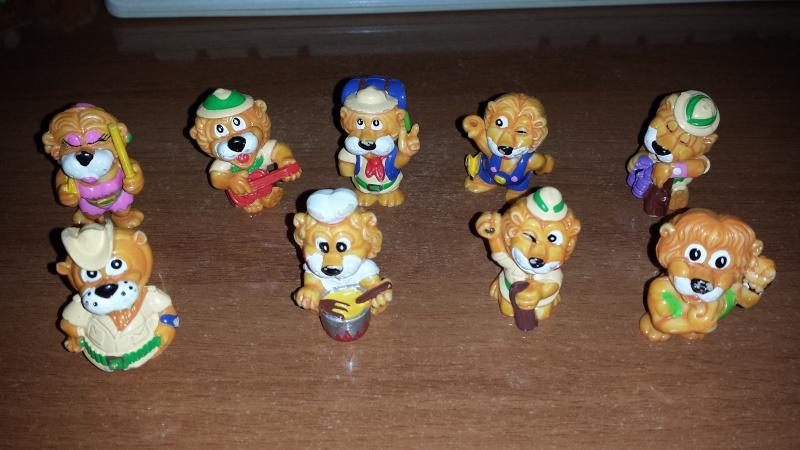 VENDO Collezioni Kinder Sorpresa, Kinder Ferrero, Parmalat e Mulino Bianco 20140224