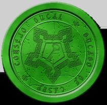 Sello Consejo Ducal ( en verde ) Sello_10