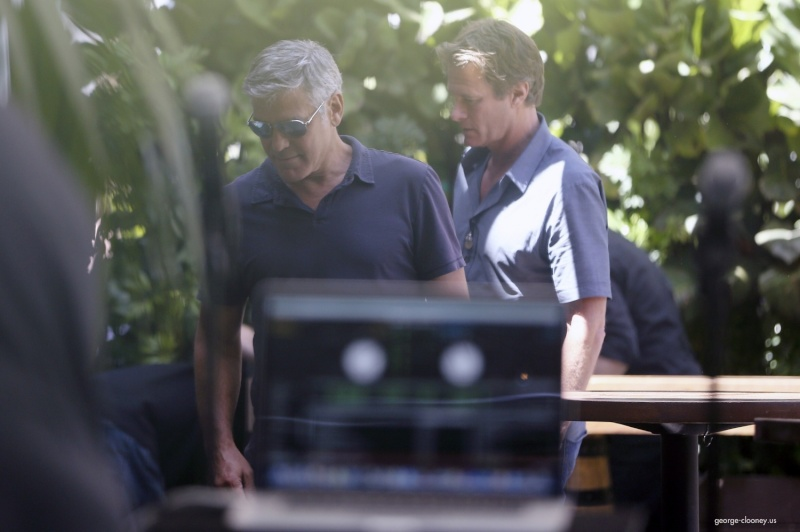 George Clooney & Amal Alamuddin Celebrate Their Engagement Surrounded By Celebrity Friends! - Page 3 00231210