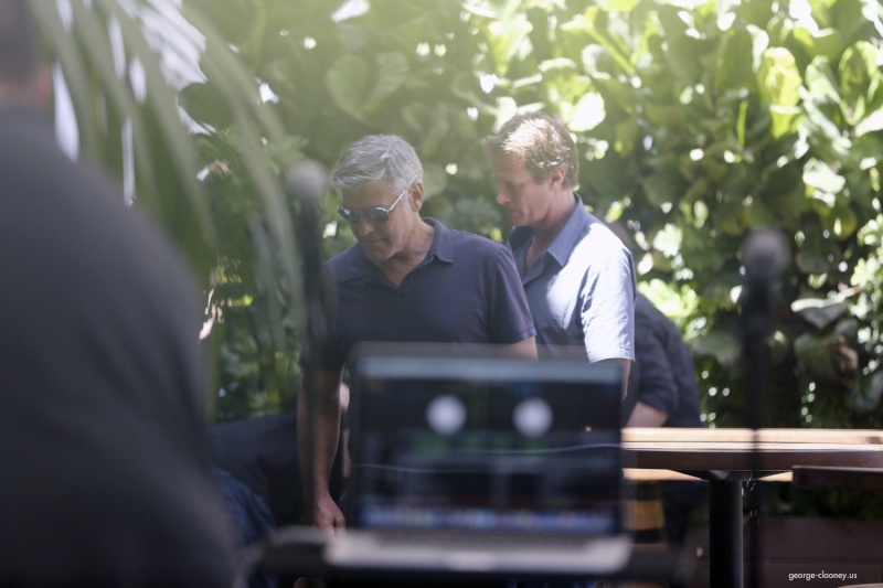 George Clooney & Amal Alamuddin Celebrate Their Engagement Surrounded By Celebrity Friends! - Page 3 00231410