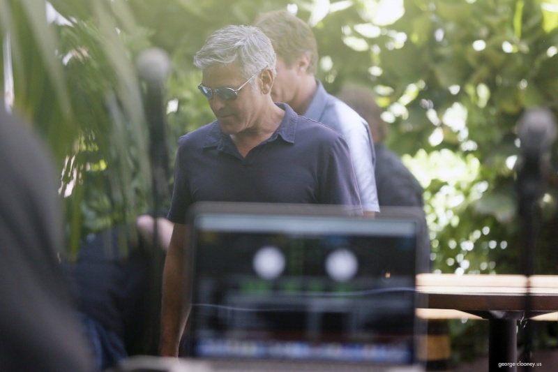 George Clooney & Amal Alamuddin Celebrate Their Engagement Surrounded By Celebrity Friends! - Page 3 00232110